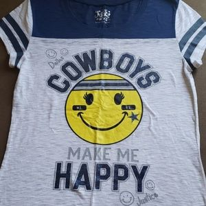 Justice Cowboys shirt
